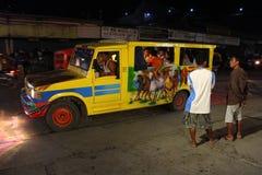 Jeepney Στοκ εικόνα με δικαίωμα ελεύθερης χρήσης