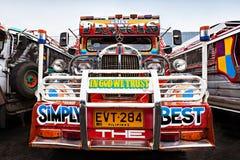 Jeepney Arkivfoto