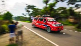 省Jeepney 免版税图库摄影