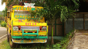 Jeepney-Auto Stockfotos