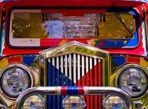 Jeepney filippino Fotografia Stock Libera da Diritti