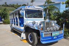 Jeepney i Filippinerna Royaltyfria Foton