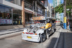 Jeepney Stock Photography