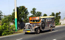 Jeepney in The Philippines Stock Images