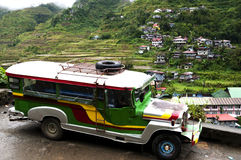 Jeepney - Philippines royalty free stock photo