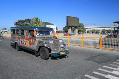 Jeepney Stock Photo