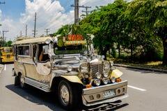 jeepney TARGET261_0_ przejażdżka Zdjęcie Royalty Free