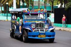 Jeepneys in Philippines. Stock Photo