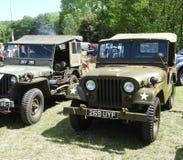 Jeeps Royalty Free Stock Photo