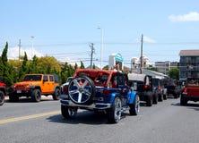 Jeeps chez Jeep Week photographie stock libre de droits