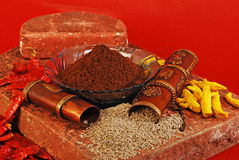 Jeera, Indian Spices Stock Photos