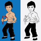 Jeet Kune Do Royalty Free Stock Photography