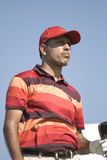 Jeev Milkha Singh at Royal Trophy Royalty Free Stock Photography