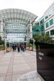 Jefaturas de Apple en Cupertino, California Fotografía de archivo libre de regalías