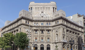 Jefaturas de Caixa Catalunya Fotos de archivo
