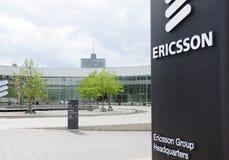 Jefaturas de Ericsson en Kista Imágenes de archivo libres de regalías