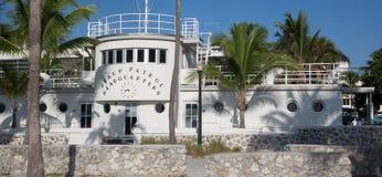 Jefaturas de la patrulla de la playa en Miami Fotos de archivo libres de regalías
