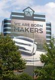 Jefaturas del mundo de Chrysler Imágenes de archivo libres de regalías