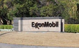 Jefaturas del mundo de ExxonMobil Imagen de archivo libre de regalías