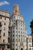 Jefaturas del teléfono, La Habana, Cuba Foto de archivo libre de regalías