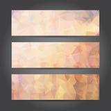 Jefe abstracto para el trabajo del diseño, ejemplo del vector Fotografía de archivo libre de regalías