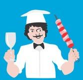 Jefe-cocine ilustración del vector