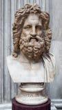 Jefe de Júpiter de Otricoli fotos de archivo libres de regalías