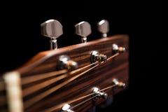 Jefe de la guitarra Fotografía de archivo