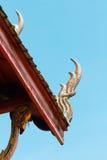 Jefe de la imagen de la estatua del naga Fotografía de archivo