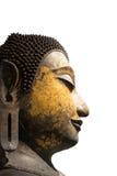 Jefe de una imagen de Buda Foto de archivo libre de regalías