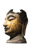 Jefe de una imagen de Buda, Tailandia Imagen de archivo libre de regalías