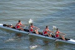 Jefe del Regatta del Rowing de Hooch Foto de archivo
