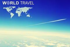 Jefe del World Travel Imagen de archivo libre de regalías