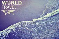 Jefe del World Travel Fotos de archivo