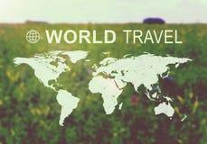 Jefe del World Travel Fotografía de archivo libre de regalías