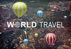 Jefe del World Travel Imagenes de archivo