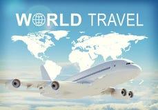 Jefe del World Travel Fotografía de archivo
