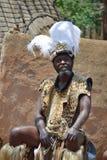 Jefe del Zulú Fotos de archivo libres de regalías