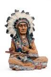 Jefe indio foto de archivo