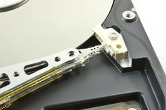 Jefe magnético del disco duro Imagen de archivo libre de regalías