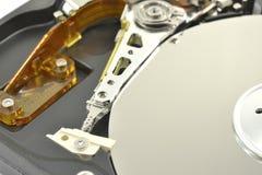 Jefe magnético del disco duro Fotografía de archivo libre de regalías