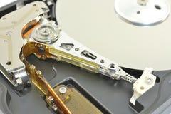 Jefe magnético del disco duro Imagenes de archivo
