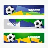 Jefes del fútbol stock de ilustración