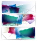 Jefes del Web site del vector Fotos de archivo libres de regalías