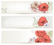 Jefes florales ilustración del vector