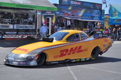 Jeff Arend Funny car Stock Photography