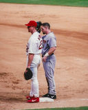Jeff Bagwell and Mark McGwire Royalty Free Stock Photo