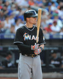 Jeff Baker. Miami Marlins batter Jeff Baker, #10 Royalty Free Stock Images