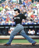 Jeff Baker. Miami Marlins batter Jeff Baker, #10 Stock Photos