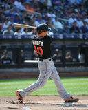 Jeff Baker. Miami Marlins first baseman Jeff Baker Royalty Free Stock Photo
